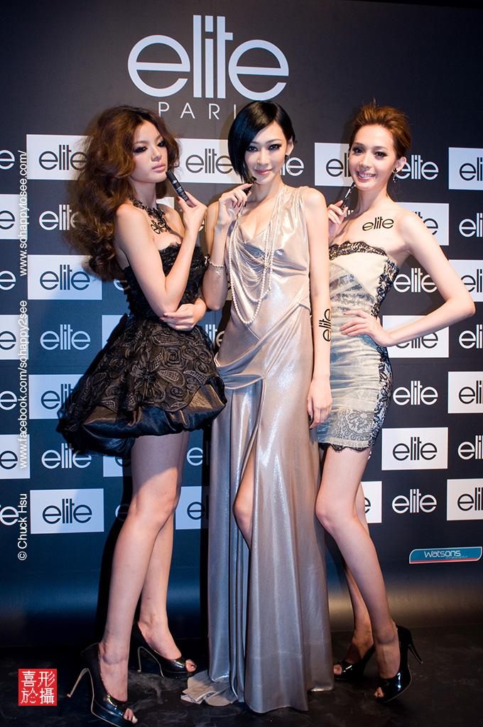 活動攝影-elite fashion show (陸瑤、王心恬、林佳陵)