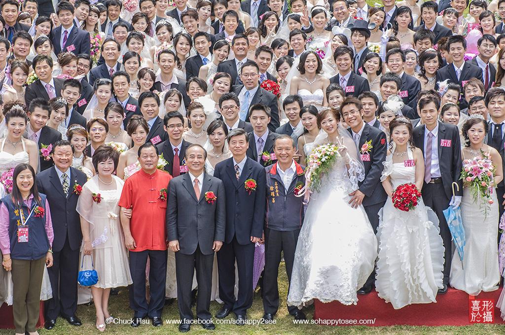 150對新人的苗栗桐花婚禮