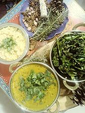 Dahl, Greens, Millet.jpg