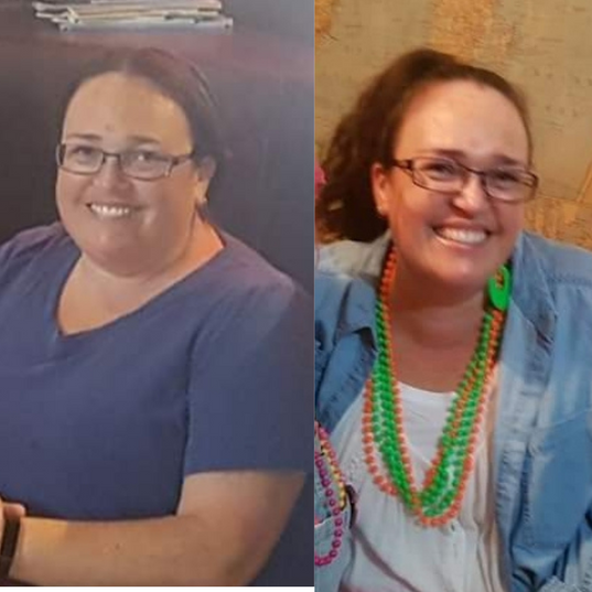 Lisa has lost an impressive 21 kgs