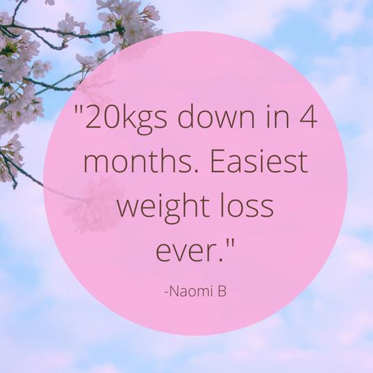 20kgs is a wonderful achievement