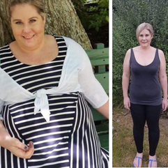 Becky visited Lyn in January and in just 11 short months lost an impressive 59 kilos.   Congratulations Becky, we are so pleased for you.