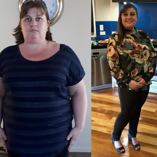 Kathryn has lost 30kgs!
