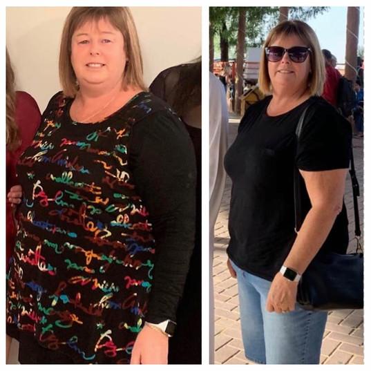 Rhonda has lost an Impressive 22kgs