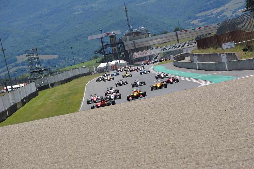 Pista mugello partenza motorsport F2000 TopJet Formula X Italian Series ACI/CSAI ACI RACNG WEEKEND
