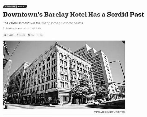 Curbed LA: Barclay Hotel