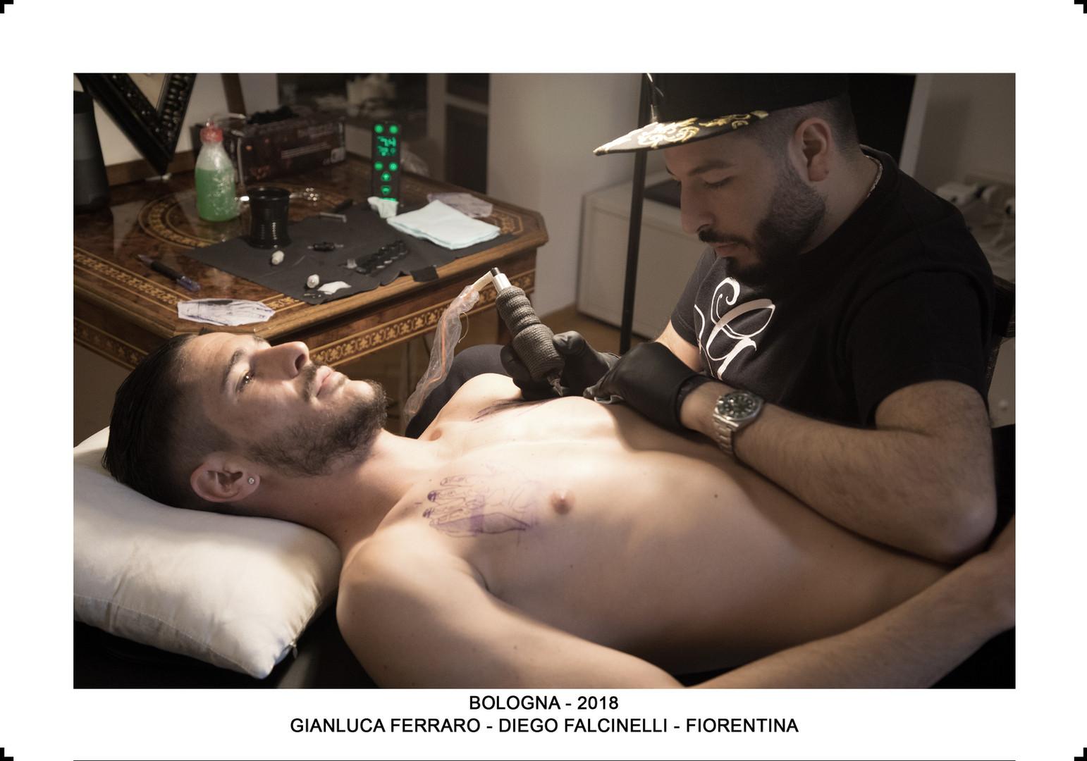 GIANLUCA FERRARO TATTOO