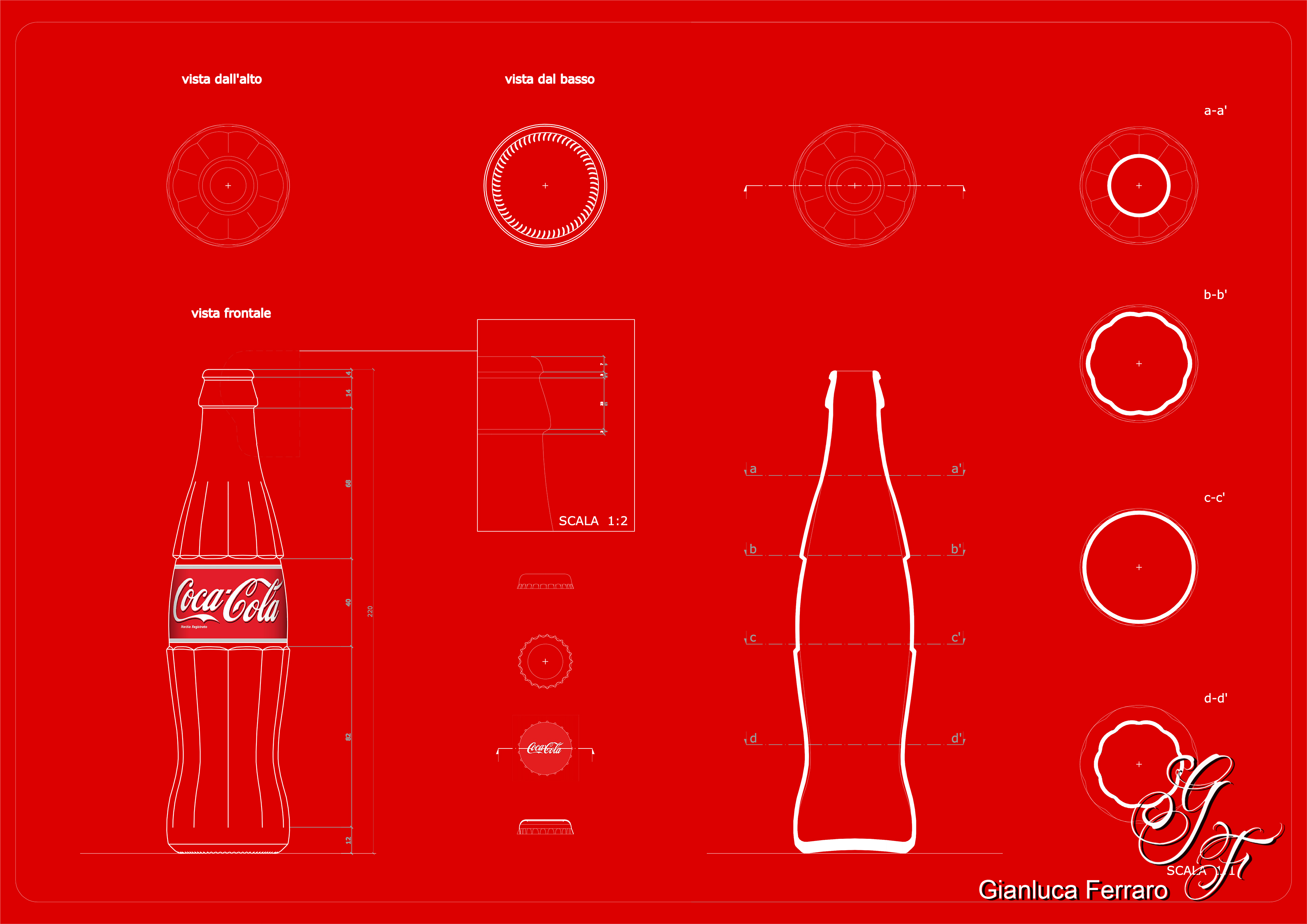 Coca cola glass