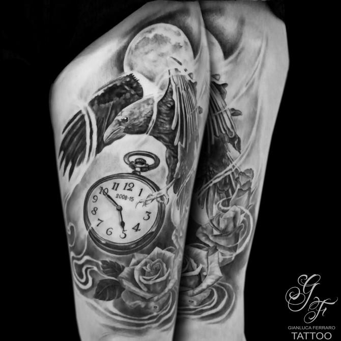 Tatuarsi un Corvo