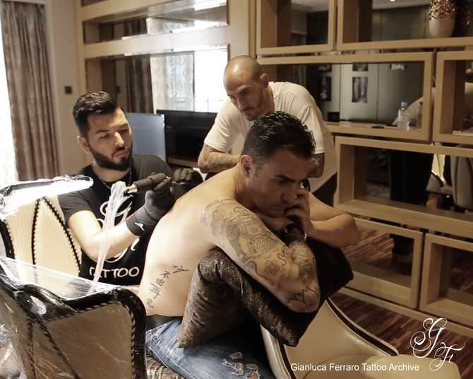 Fratelli Cannavaro, nuovi tatuaggi!