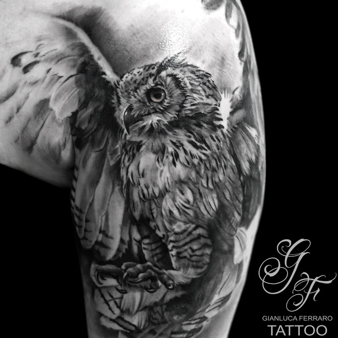 Tatuarsi un Gufo