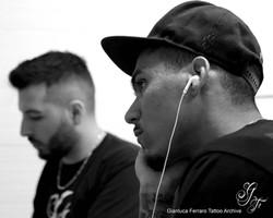 ALLAN MARQUES - Tattoo Session at work - Naples Studio - 2017