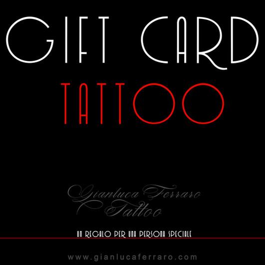 gift card gianluca ferraro tattoo