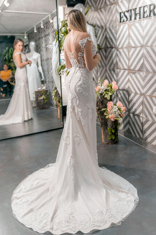 vestidos de novia, Esther Cespedes