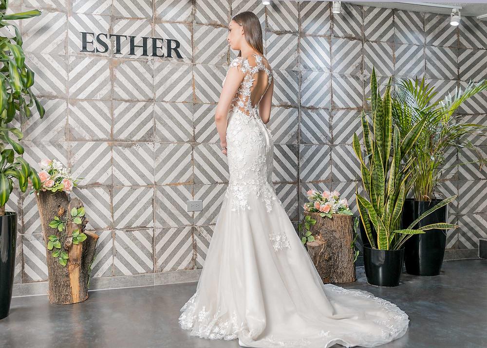 Vestido de Novia, Esther Cespedes