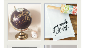 Trends:  Hand Lettering