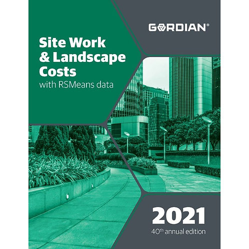 RS Means Site Work and Landscape Cost Data