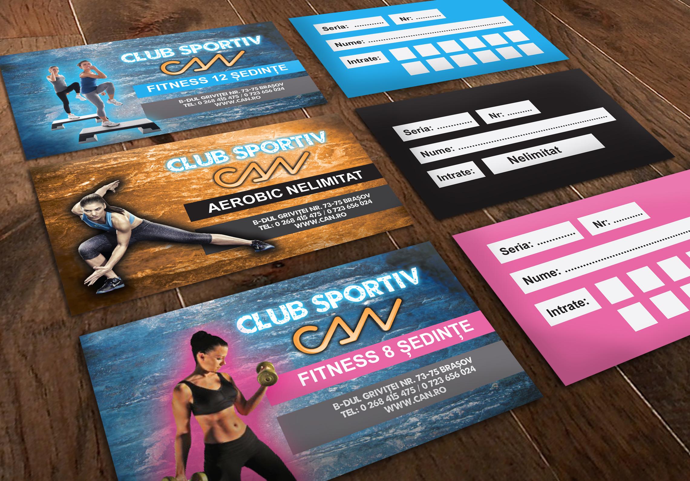 gym carnet - Sport Club CAN