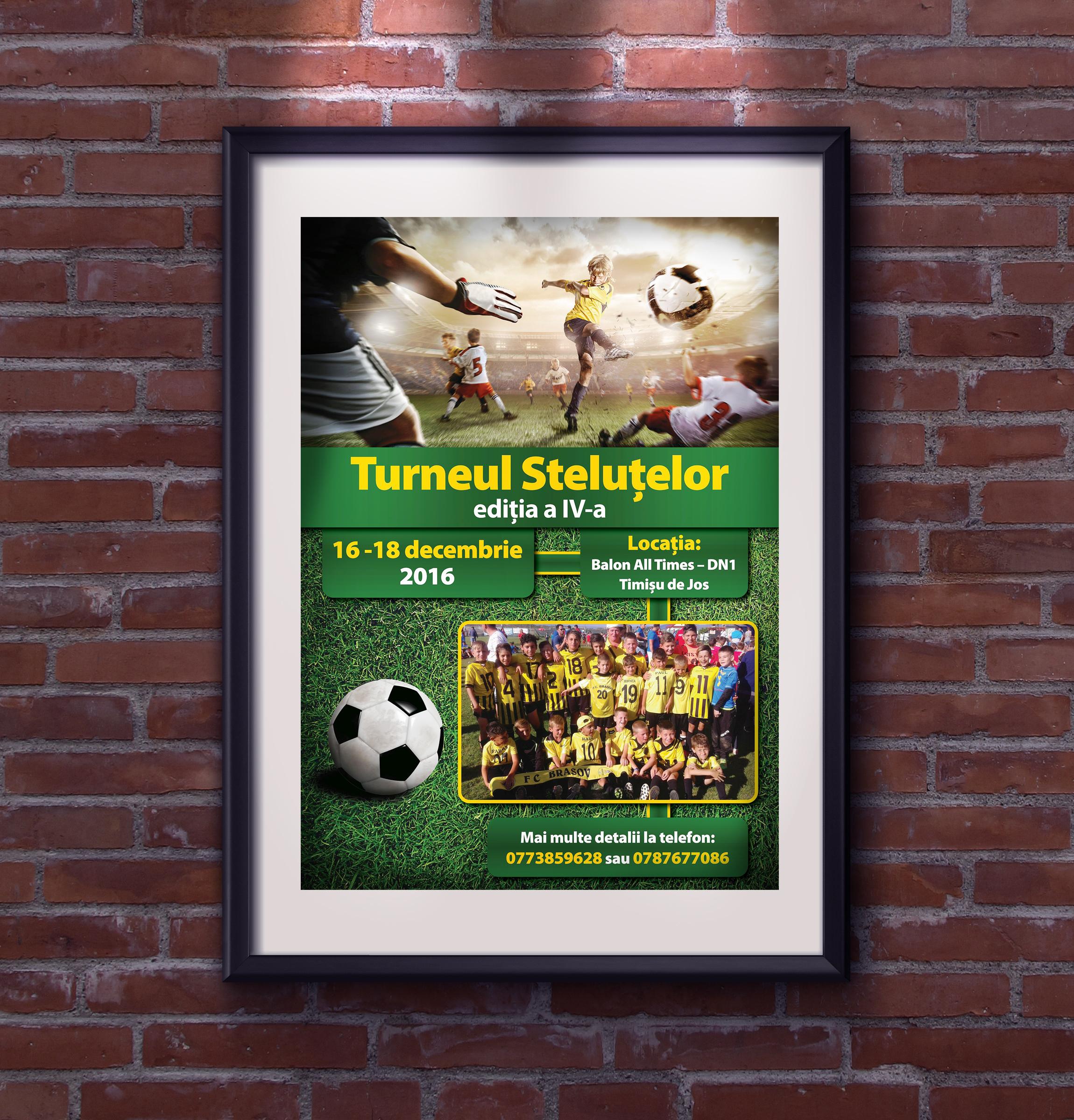 Poster - Football Club in Brasov