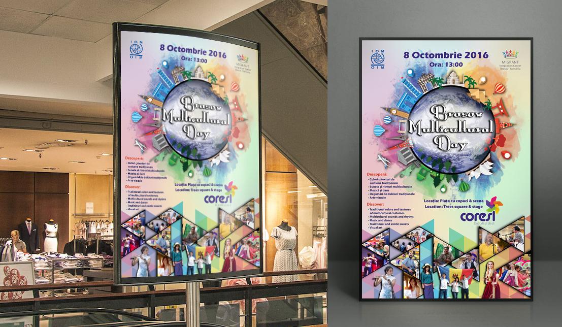 poster - Multicultural Day Brasov