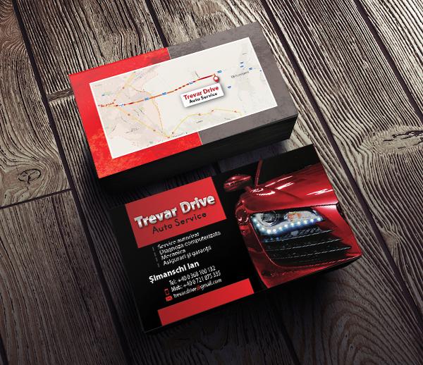 VisitCard - Trevar Drive