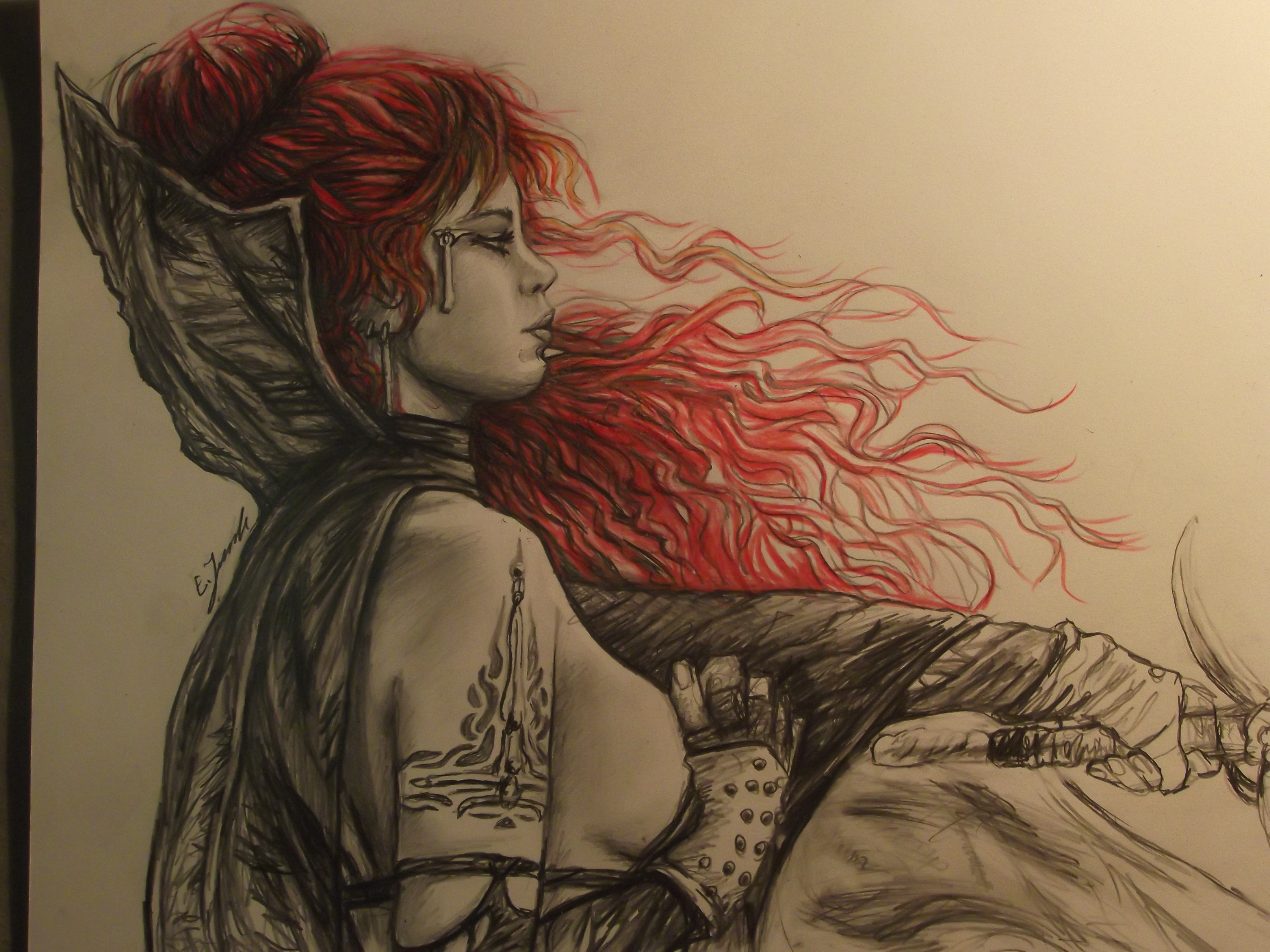 inspired by Luis Royo Art