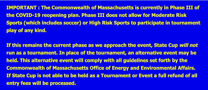 MA Tournament Guidelines