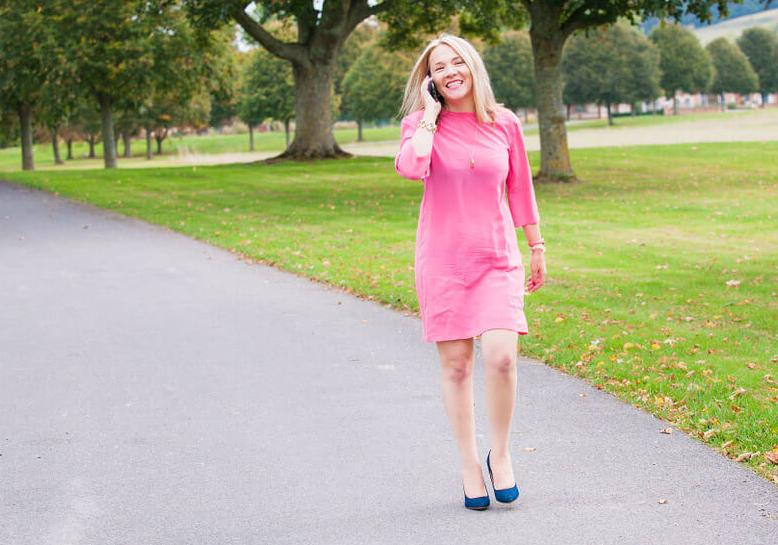 Siska Pink Dress.png