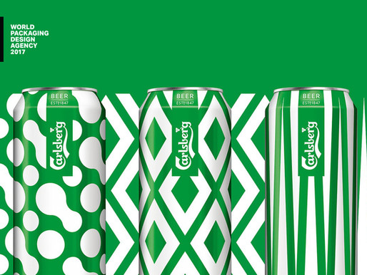 The Theory: Carlsberg Rebrand by Taxi Studio