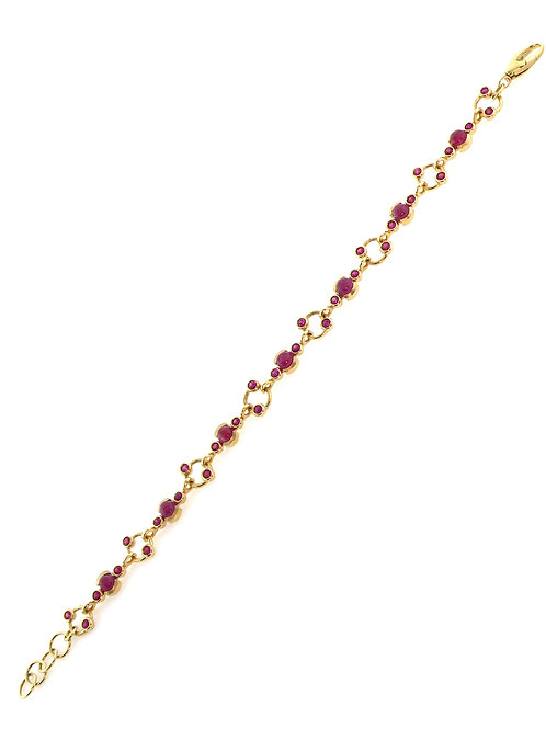 14k Yellow Gold & Rubies