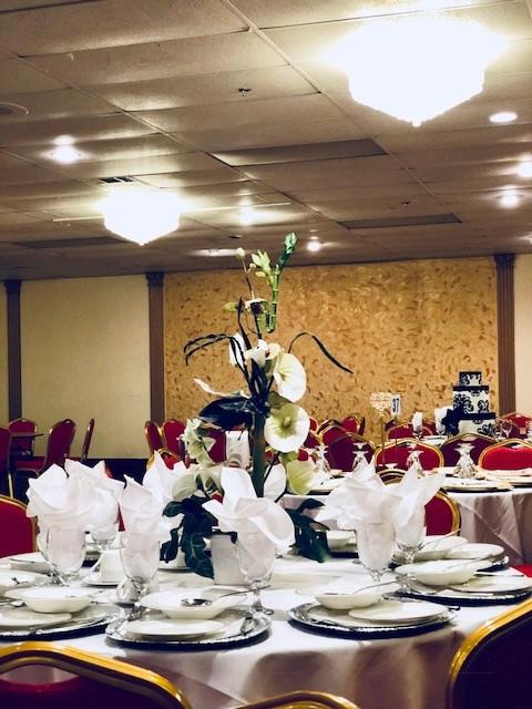 Elegant Banquet Hall Table