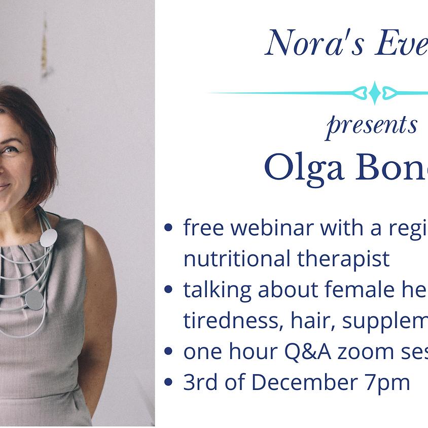 Conversation with Olga Bonde