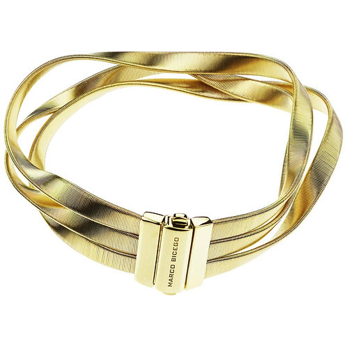 Marco Bicego Marrakech Supreme Three-Strand Bangle/Bracelet 18 karat Yellow Gold