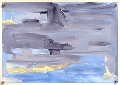 Fernweh (2020) acrylic on canvas sheet