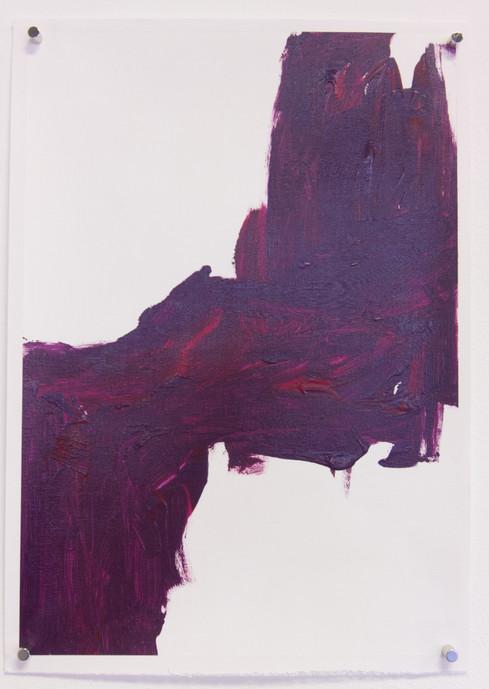 Ardor (2020) acrylic on canvas sheet