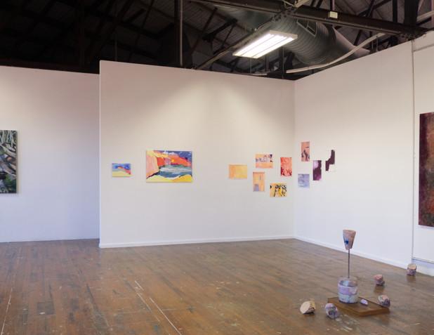 Fernweh Recalculated (2020) Installation view Grad Show