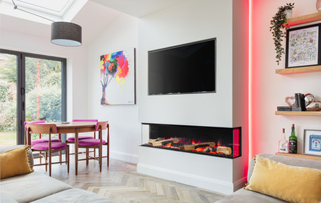 Electric Fire Install