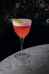 Imagery provided to a North East based bar and restaurant to showcase their new cocktail and drinks menu