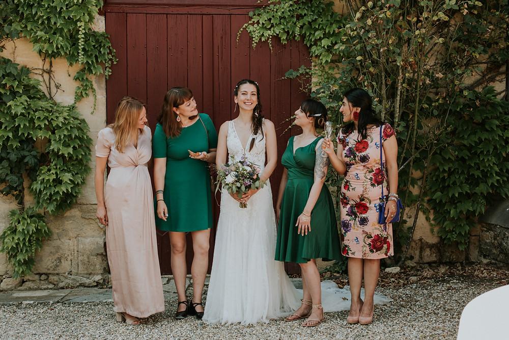 photo de mariage bordeaux chateau sentout