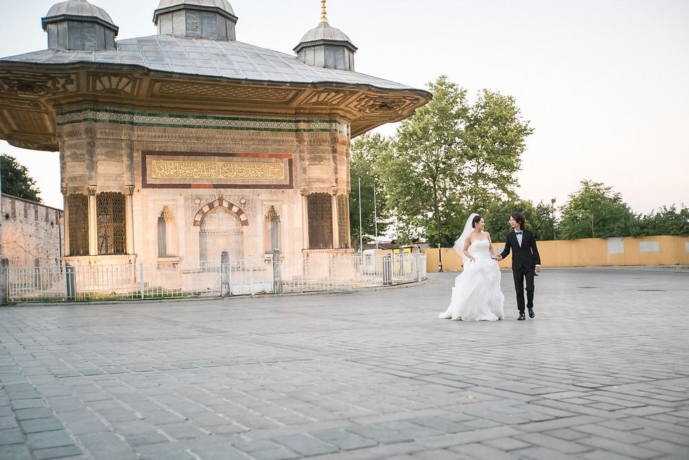 istanbul sultanahment prewedding photos