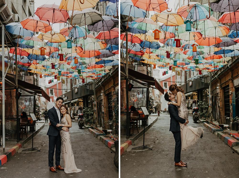 Istanbul engagement photos - Taksim