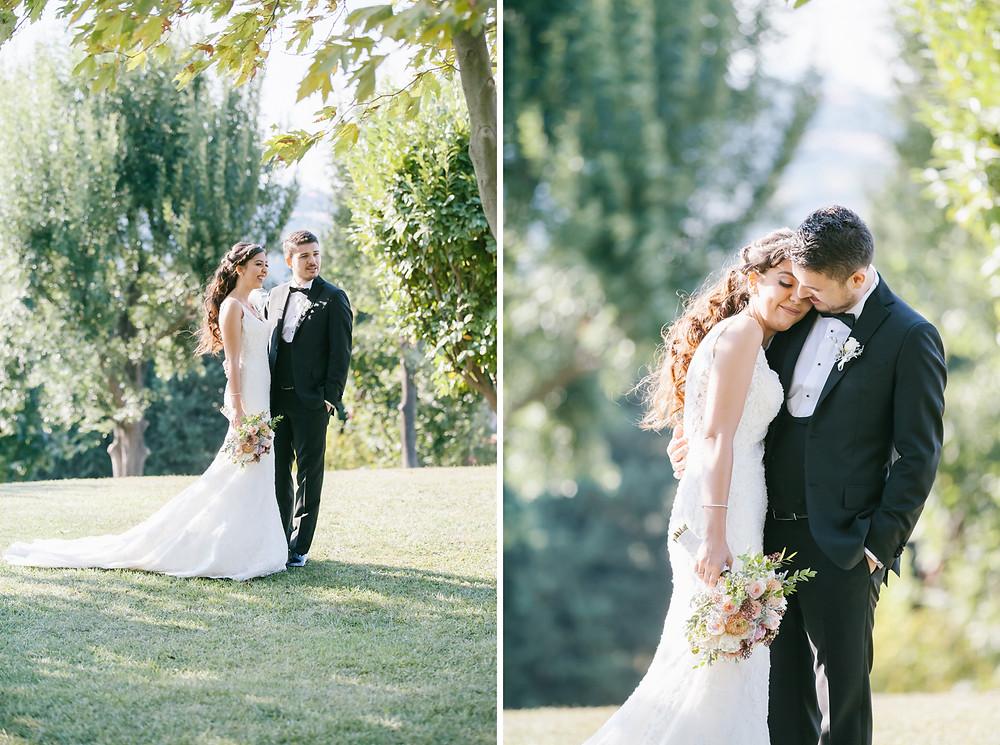 Cemile Sultan Korusu düğün fotoğrafları