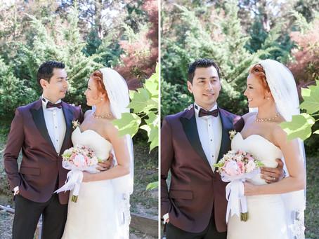Serap + Serhat / Atatürk Arboretumu düğün fotoğrafları