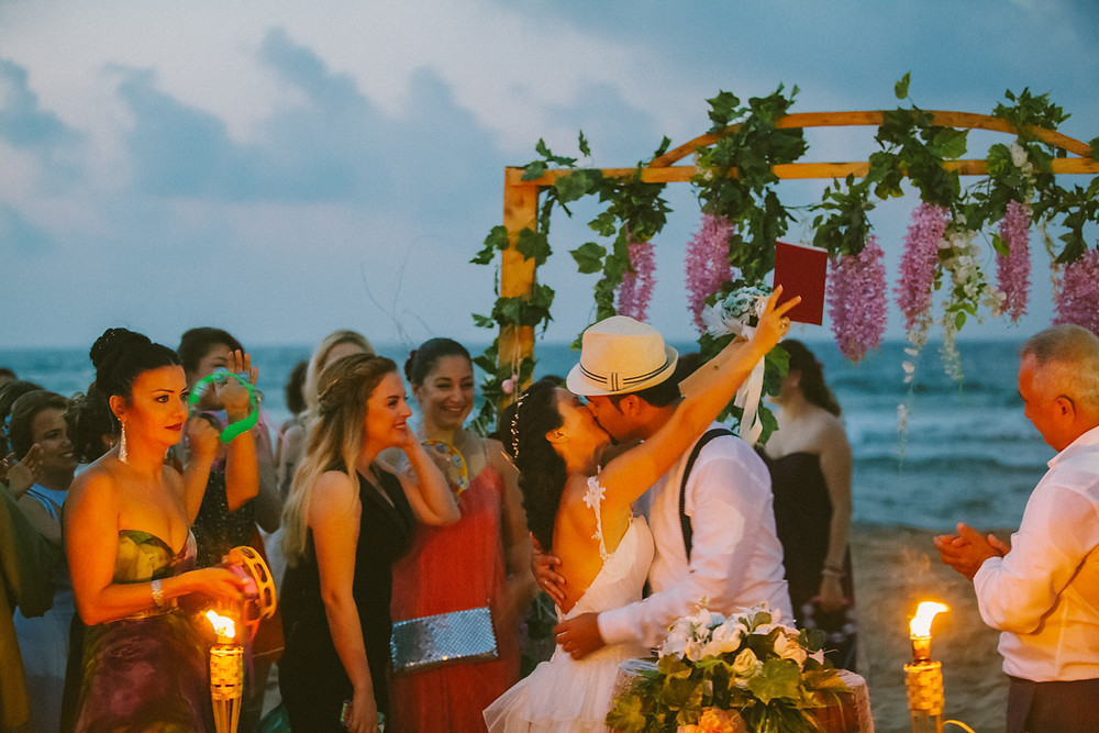 Şile aquabeach wedding photographer