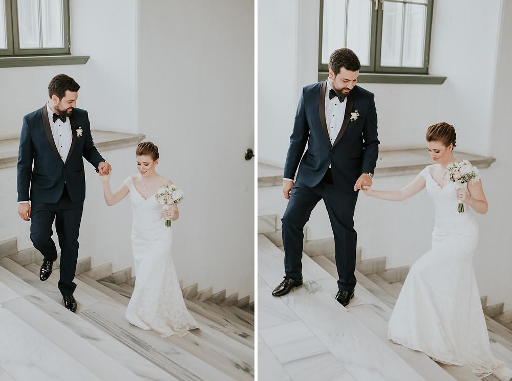 İTÜ Taşkışla düğün dış çekim