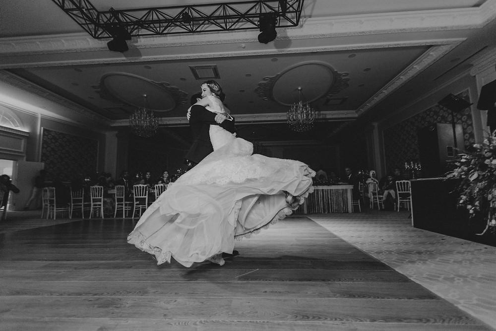 Lüleburgaz İzer hotel düğün fotoğraf ilk dans