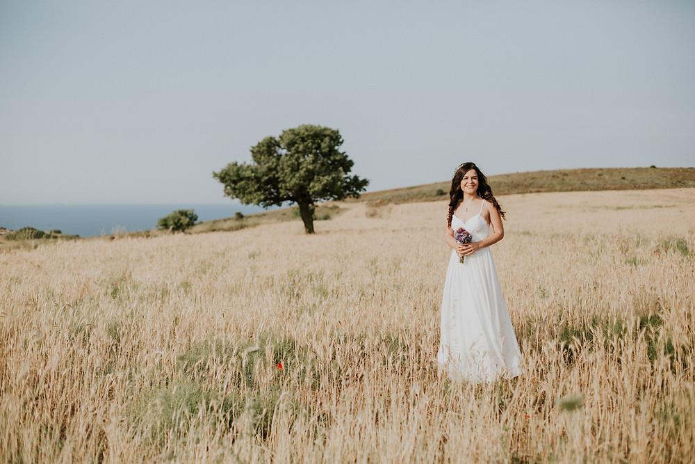 Bozcaada düğün hikayesi fotoğrafçısı
