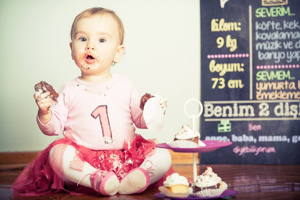 1 yaş bebek fotoğraf çekimi