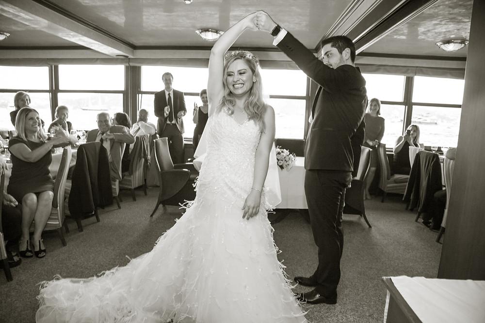 istanbul Bosphorus boat wedding photographer