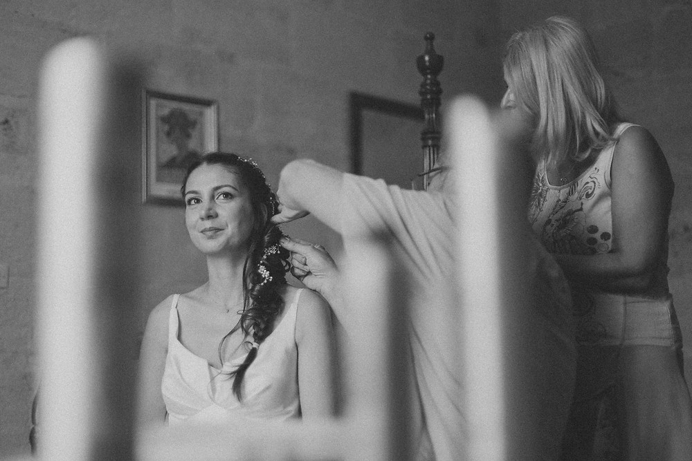 France Bordeaux château wedding documentary photos